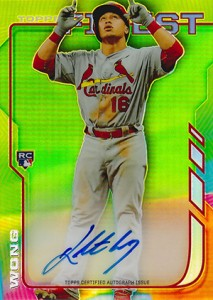 2014 Topps Finest Baseball Rookie Autographs Gallery, Guide 23