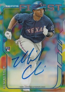 2014 Topps Finest Baseball Rookie Autographs Gallery, Guide 10