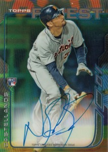2014 Topps Finest Baseball Rookie Autographs Gallery, Guide 11