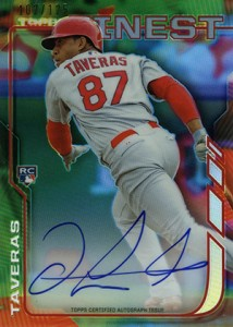 2014 Topps Finest Baseball Rookie Autographs Gallery, Guide 12