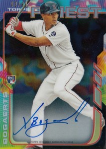 2014 Topps Finest Baseball Rookie Autographs Gallery, Guide 14