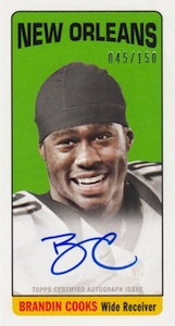 2014 Topps Football 1965 Topps Rookie Autographs