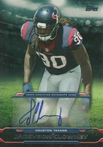 2014 Topps Football Autographs Jadeveon Clowney