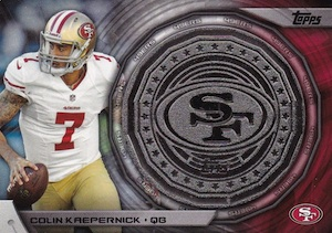 2014 Topps Football Kickoff Coin