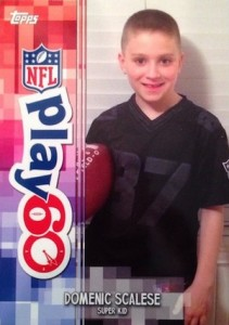 2014 Topps Football Play 60 Super Kids