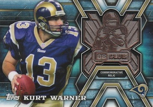 2014 Topps Football Quarterback Club Relics