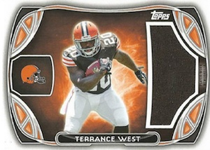 2014 Topps Football Rookie Jumbo Relics