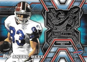 2014 Topps Football Wide Receiver Club Relics