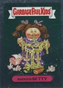 2014 Topps Garbage Pail Kids Chrome OS2 C Variations Booger Betty