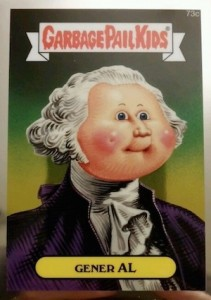 2014 Topps Garbage Pail Kids Chrome OS2 C Variations Gener Al