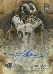 2014 Topps Inception Football Rookie Autographs Gallery, Guide 5