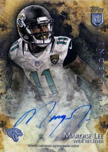 2014 Topps Inception Football Rookie Autographs Gallery, Guide 7