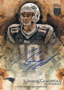 2014 Topps Inception Football Rookie Autographs Gallery, Guide 8