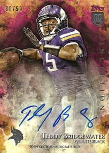 2014 Topps Inception Football Rookie Autographs Gallery, Guide 21