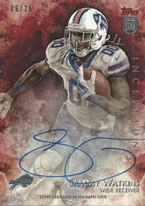 2014 Topps Inception Football Rookie Autographs Gallery, Guide 29