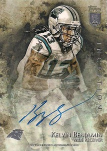 2014 Topps Inception Football Rookie Autographs Gallery, Guide 10