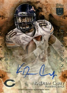 2014 Topps Inception Football Rookie Autographs Gallery, Guide 11