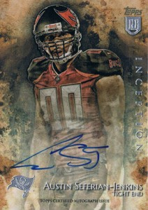 2014 Topps Inception Football Rookie Autographs Gallery, Guide 12
