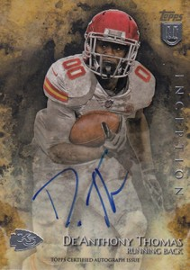 2014 Topps Inception Football Rookie Autographs Gallery, Guide 33