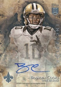2014 Topps Inception Football Rookie Autographs Gallery, Guide 34