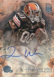 2014 Topps Inception Football Rookie Autographs Gallery, Guide 16