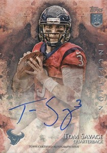 2014 Topps Inception Football Rookie Autographs Gallery, Guide 17