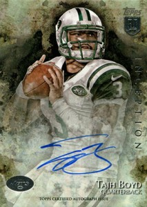 2014 Topps Inception Football Rookie Autographs Gallery, Guide 18