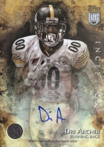 2014 Topps Inception Football Rookie Autographs Gallery, Guide 19