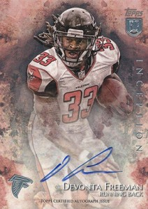 2014 Topps Inception Football Rookie Autographs Gallery, Guide 39