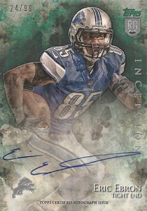 2014 Topps Inception Football Rookie Autographs Gallery, Guide 3