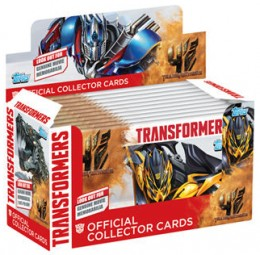 2014 Topps UK Transformers Collector Cards Box