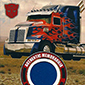 Optimus Prime Taken to Chop Shop by Topps UK for Trading Cards