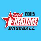 2015 Topps Heritage Baseball Cards