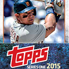 2015 Topps Series 1 Baseball Cards