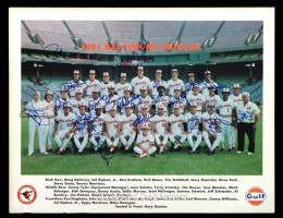 Baltimore Orioles Team Signed Photo