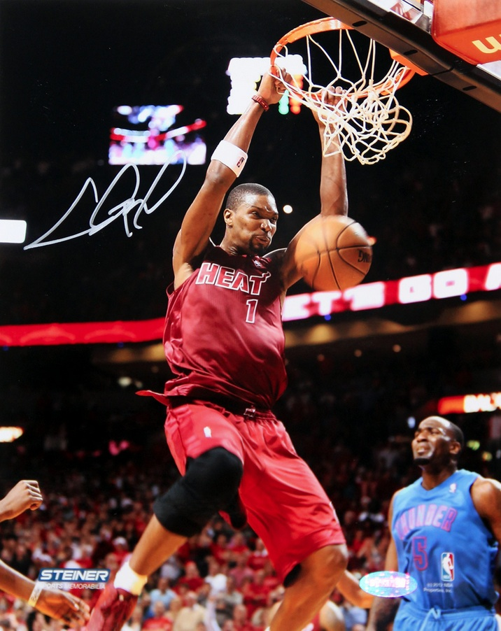 Chris Bosh Signed Photo