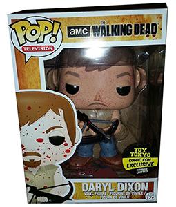 Funko Pop Walking Dead 14 Daryl Dixon 9-Inch Bloody Toy Tokyo
