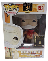 Funko Pop Walking Dead 153 Hershel Green Headless Convention Tour