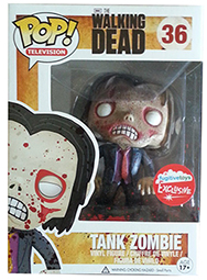 Funko Pop Walking Dead 36 Bloody Tank Zombie