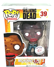 Funko Pop Walking Dead 39 Bloody Michonnes Pet 2