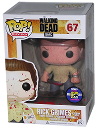 Funko Pop Walking Dead 67 Bloody Rick Grimes Prison Yard