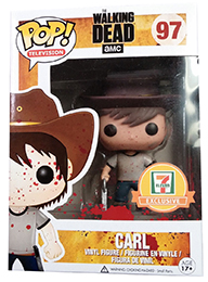 Funko Pop Walking Dead 97 Bloody Carl Grimes