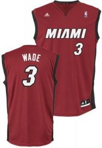 Miami Heat Dwyane Wade Replica Jersey