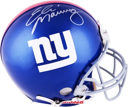 New York Giants Eli Manning Signed Helmet