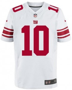 New York Giants Nike Authentic Elite Jerseys Eli Manning