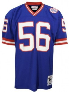 New York Giants Vintage Throwback Jersey Lawrence Taylor
