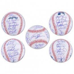 New York Mets Team Signed Balls