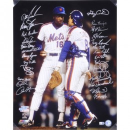 New York Mets Team Signed Photo