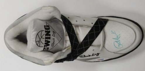 Patrick Ewing New York Knicks Signed Sneaker