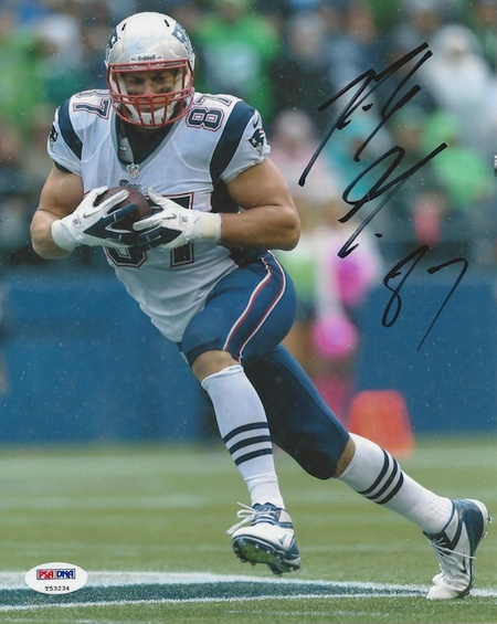 Rob Gronkowski Signed Photo